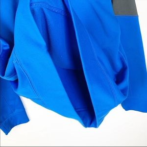 Nike Tops - Nike Therma-Fit Blue Colorblock Pullover Hoodie